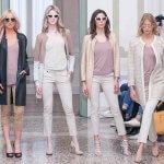 Abbigliamento Pelle Su Misura Personalizzabile Giacca Bianco Crema Prima | Nicola Pelliccerie