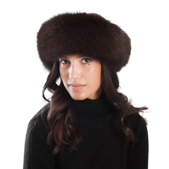 Cappello Pelliccia Volpe marrone | Nicola Pelliccerie