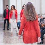 Cappottino Pelle Scamosciata rosso Frange Su Misura Personalizzato | Nicola Pelliccerie