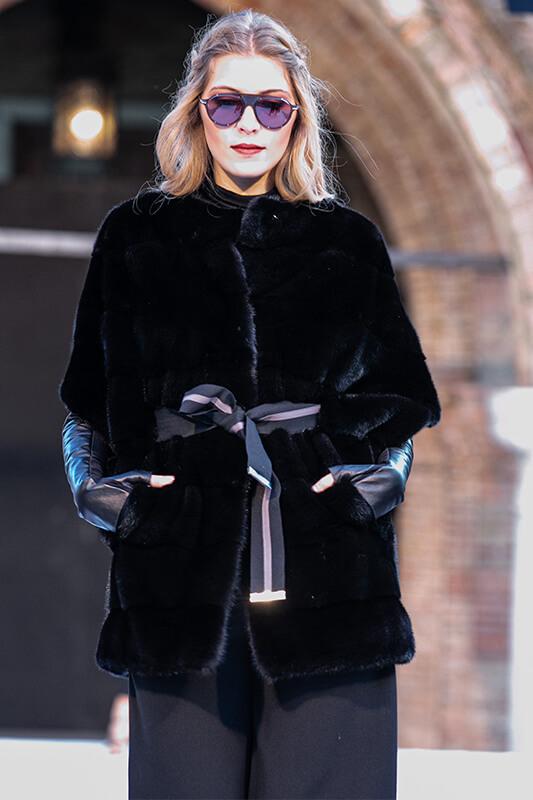 Fashion Moda Pellicce Fur Natural Visone | Nicola Pelliccerie