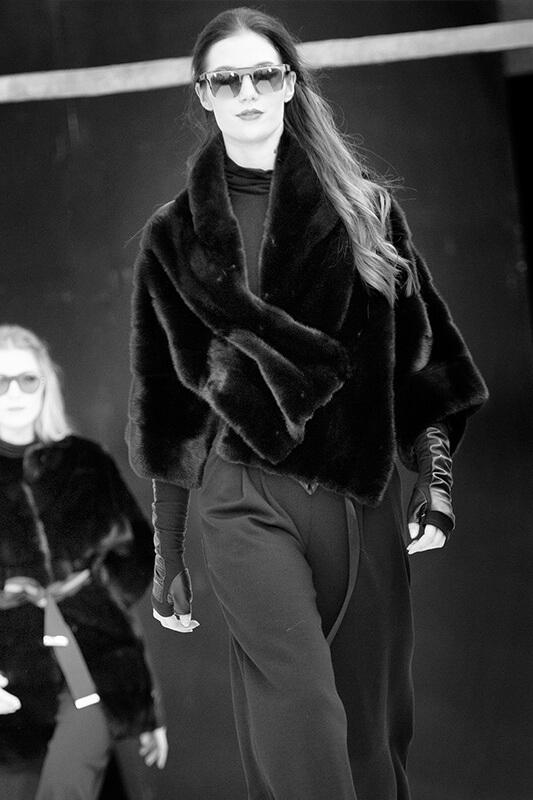 Fashion Visone Nero Moda Inverno | Nicola Pelliccerie