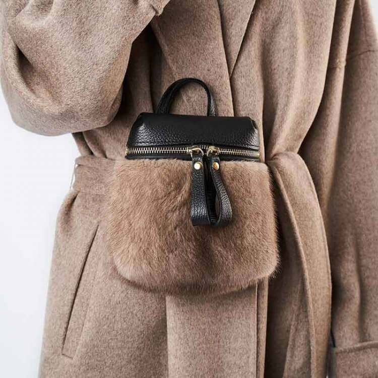 Marsupio Moda Donna Rosa | Nicola Pelliccerie