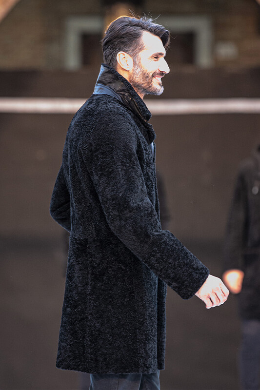 Pelliccia Uomo Fashion Sfilata Cappotto PN | Nicola Pelliccerie