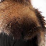 Sciarpa pelliccia marrone beige miele naturale handmade scarf Italy | Nicola Pelliccerie