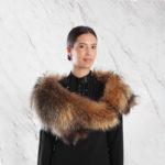 Stola murmasky naturale | Nicola Pelliccerie
