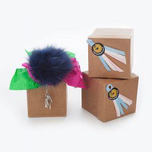 Idea regalo portachiavi volpe uomo | Nicola Pelliccerie