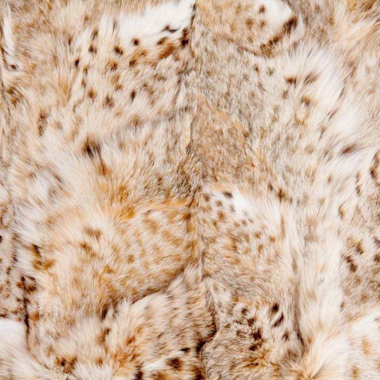Plaid matrimoniale pelliccia divano pelle naturale linciotto arredo | Nicola Pelliccerie