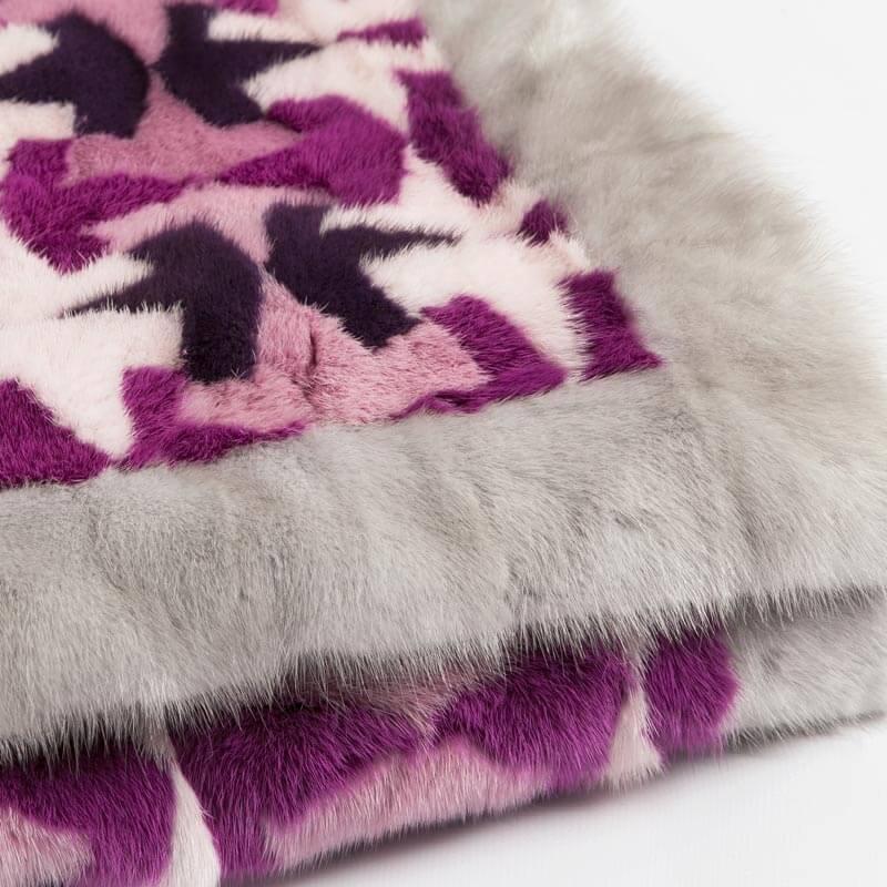 Plaid pelliccia chalet vendita online | Nicola Pelliccerie