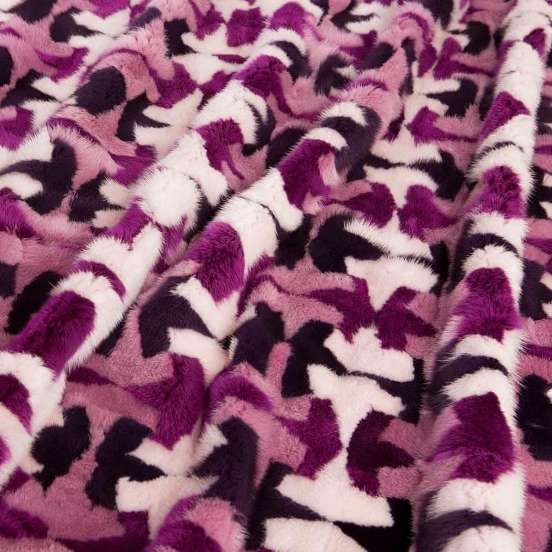Plaid pelliccia vera leggera colorata | Nicola Pelliccerie
